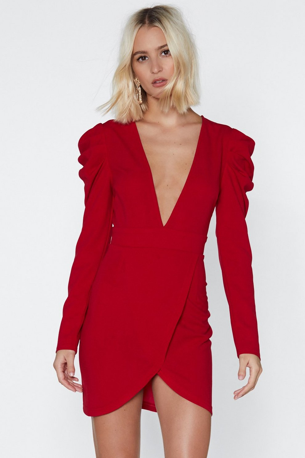 81fd0386f9 Lady in Red Mini Dress | Shop Clothes at Nasty Gal!