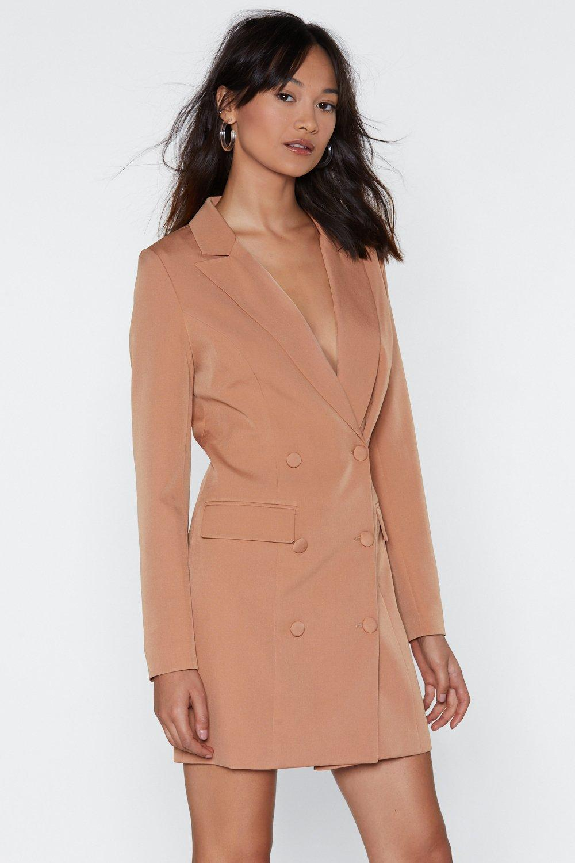 e80ad53aeebb I'm Busy Blazer Dress | Shop Clothes at Nasty Gal!
