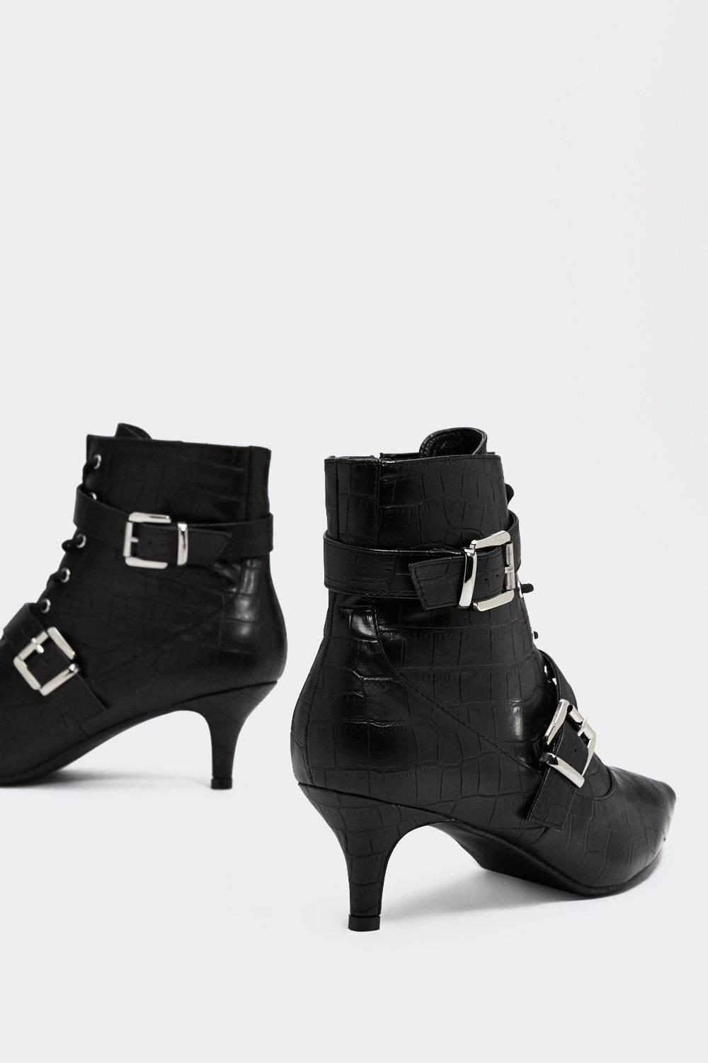 f0b4c951284bb Hey Little Kitty Buckle Bootie | Shop Clothes at Nasty Gal!