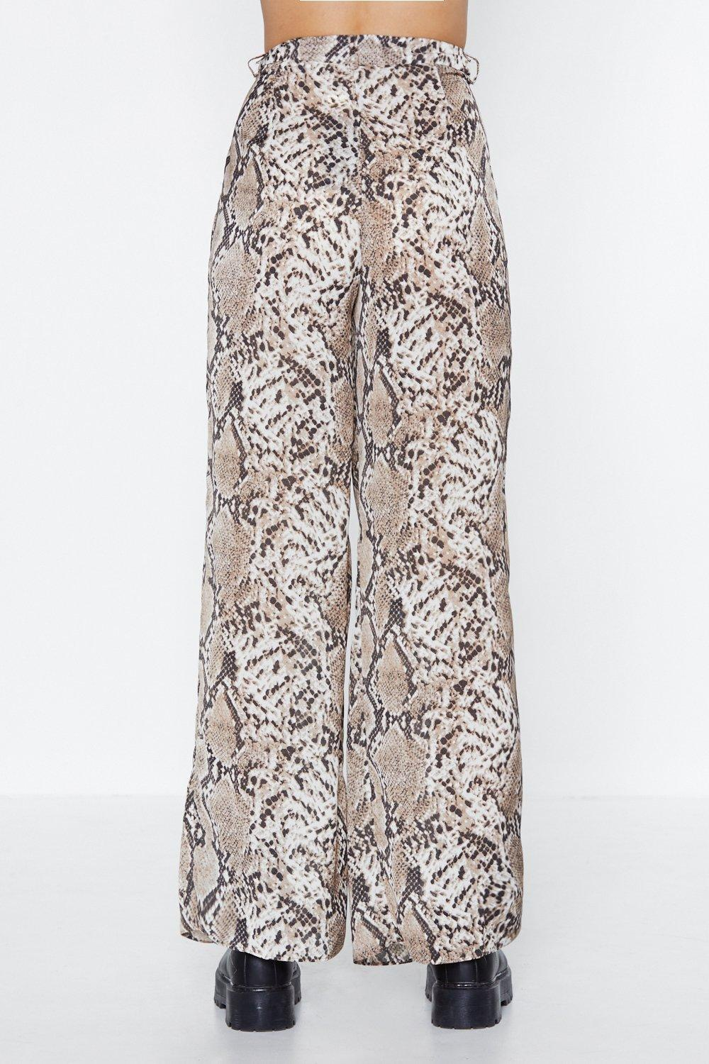 2b402e748088 Snake Your Time Wide-Leg Pants | Shop Clothes at Nasty Gal!