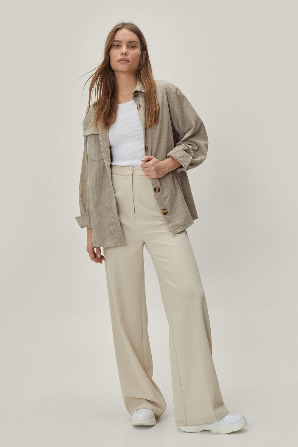 0625dff2a Hover to zoom · Womens Stone Big Cord and Beautiful Oversized Shirt