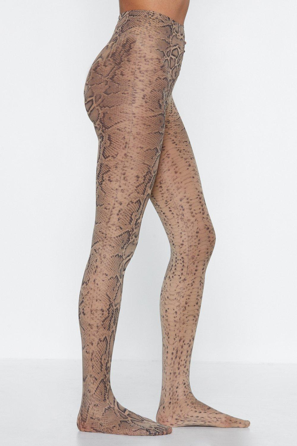 e063fae7fc6f2 Snake 'Em Wait Tights | Shop Clothes at Nasty Gal!