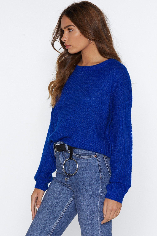 4d18fd6478 You Net Ya Oversized Sweater