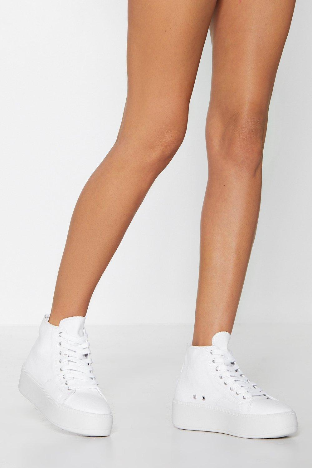 Big City Girl Platform Sneaker by Nasty Gal