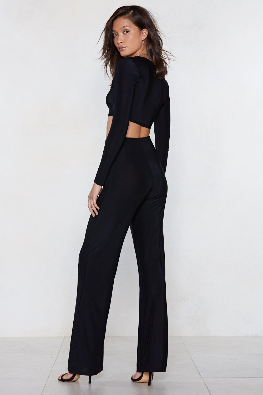 ca62d412ac83a Square With Me Crop Top and Wide-Leg Pants Set | Shop Clothes at ...