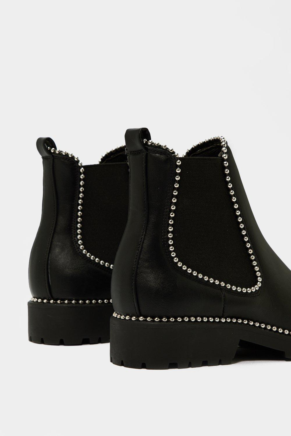 40cf8afea419 Womens Black In It to Pin It Chelsea Boot.