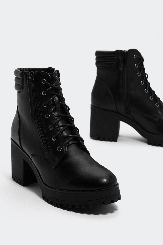 e6696e429a7 Tough Act to Follow Faux Leather Boot | Shop Clothes at Nasty Gal!