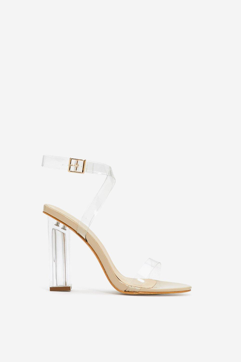 7fe24b864184 Womens Nude Let s Be Clear Heel. Hover to zoom