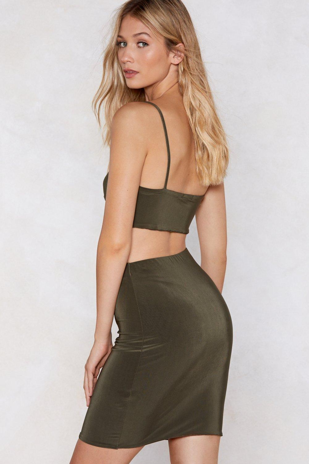 1dff37477 Take Two Crop Top and Skirt Set   Shop Clothes at Nasty Gal!