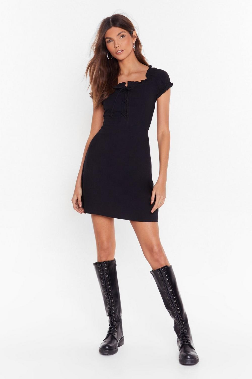 994885d680836 Tongue-Tied Lace-Up Dress | Shop Clothes at Nasty Gal!