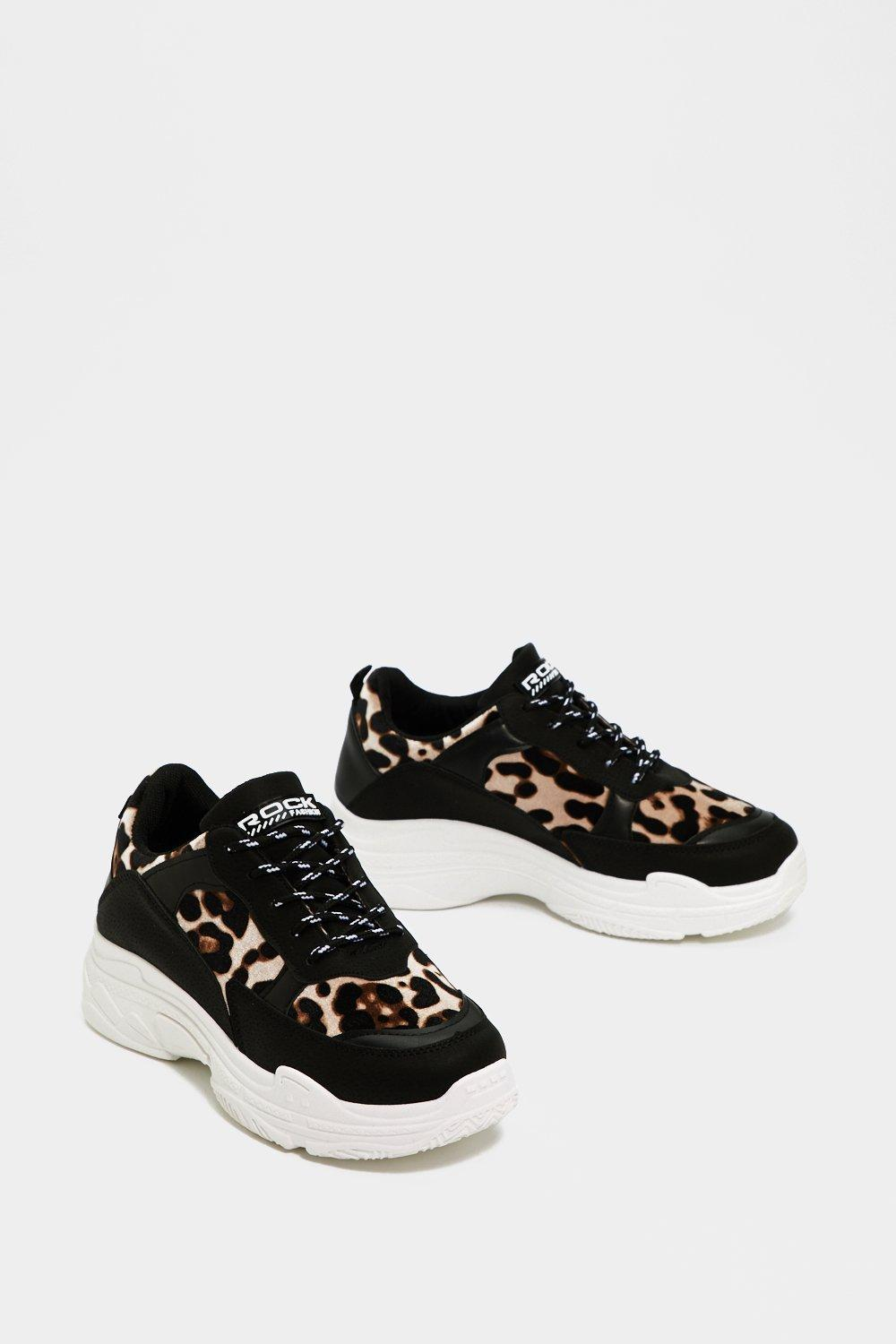 c25bf2220 Quick On Your Feet Leopard Sneaker