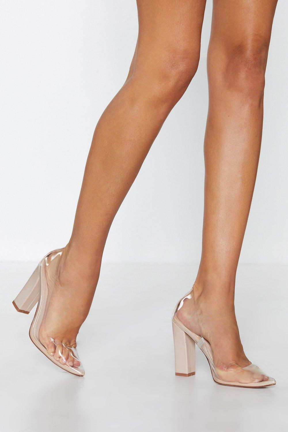 Stand Clear Pointed Heel