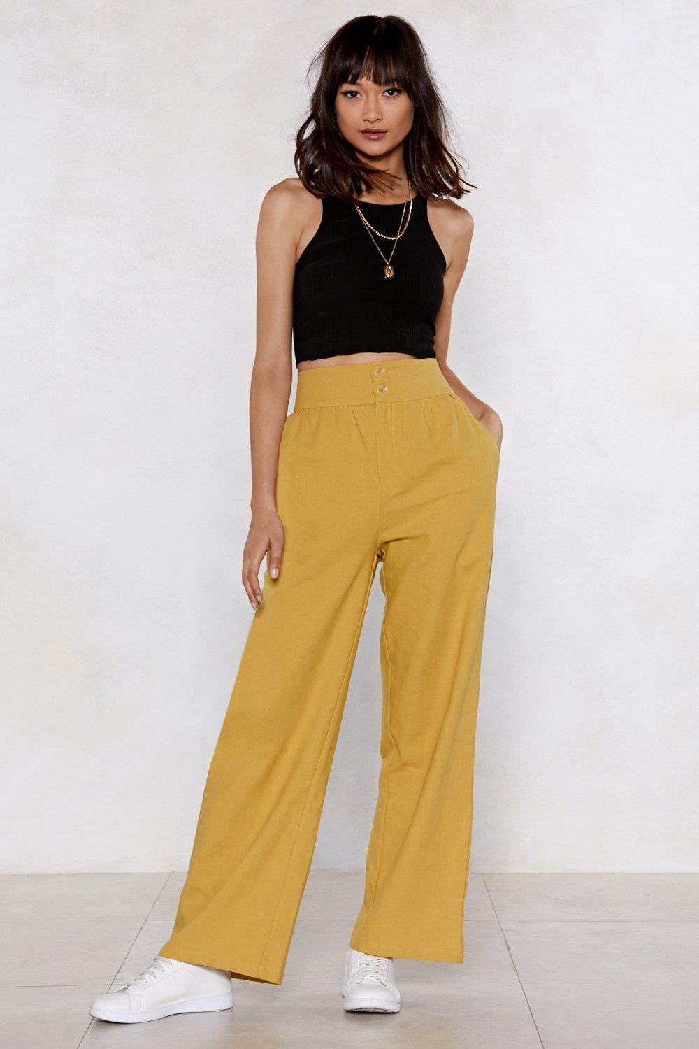 d483063391d318 Dip It Flow Wide-Leg Trousers | Shop Clothes at Nasty Gal!