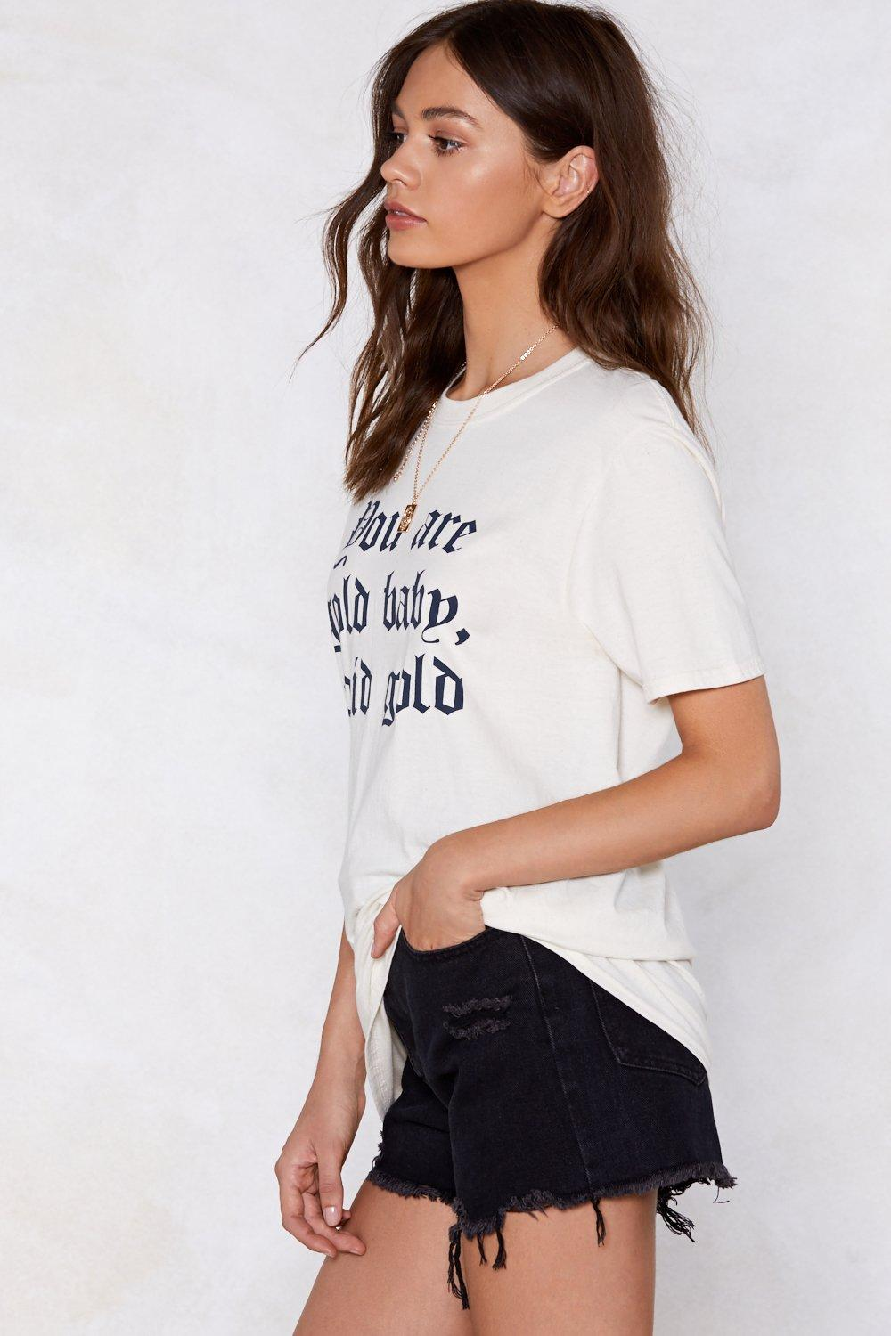 a793aa02d1b9 You Are Gold Tee   Shop Clothes at Nasty Gal!