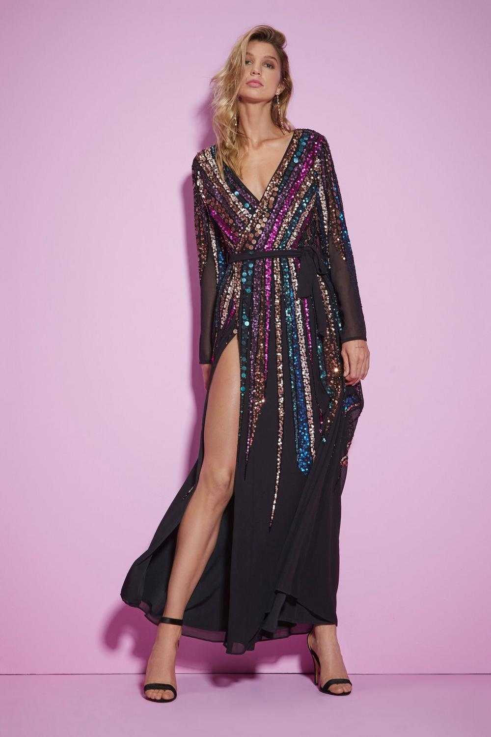 1ca5867079 Nasty Gal Studio For Your Best Moves Sequin Dress | Shop Clothes at ...