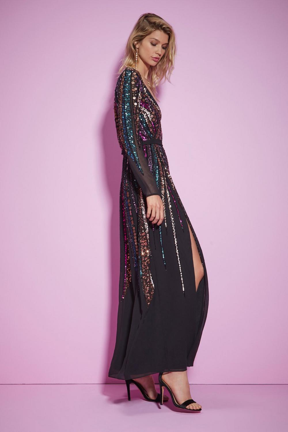 21083053a67149 Nasty Gal Studio For Your Best Moves Sequin Dress | Shop Clothes at ...