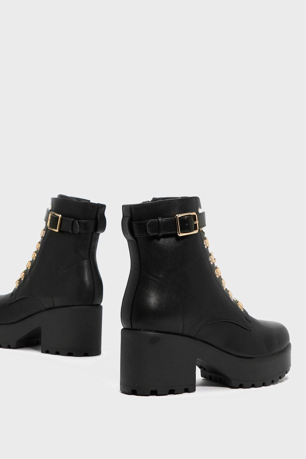 Give 'Em the Boot Chunky Boot buy cheap for cheap cheap sale sast buy cheap view vPZMRu