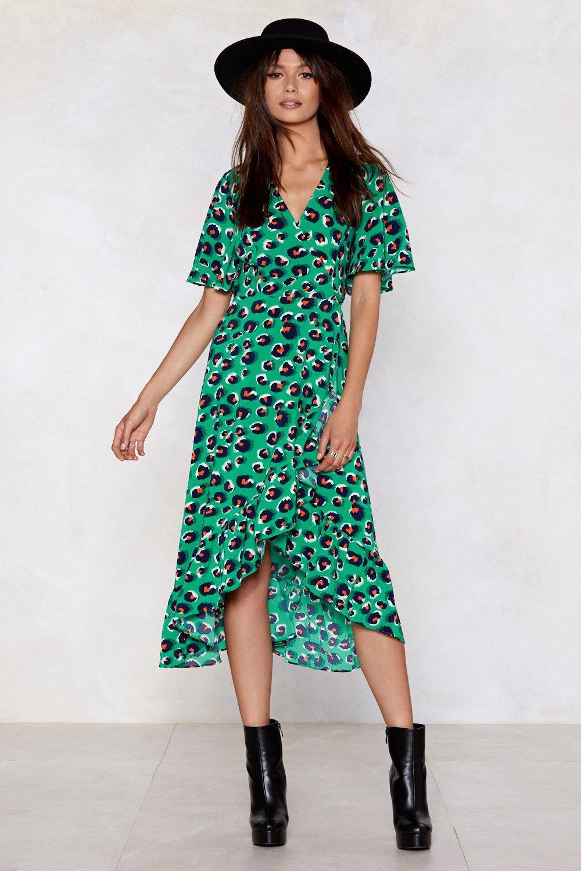Meow You re Talking Leopard Dress  001e843ff