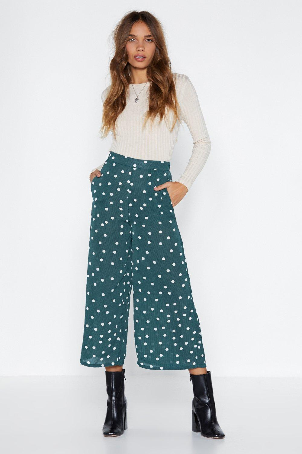 9b34a27f1a Time for a Shape Up Polka Dot Pants | Shop Clothes at Nasty Gal!