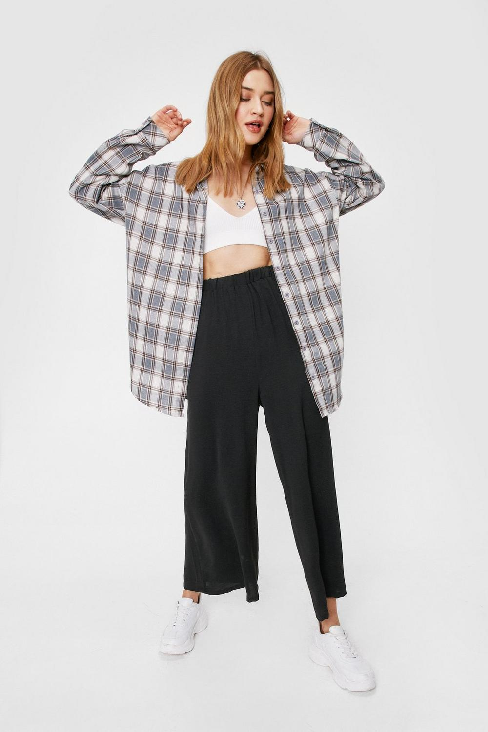 837ce709c6 Hit the Big Time Wide-Leg Trousers | Shop Clothes at Nasty Gal!