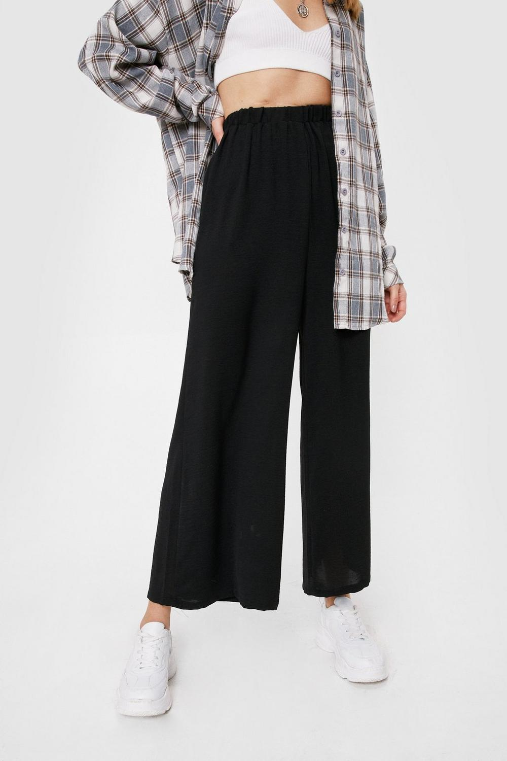 6aa2cc5058 Hit the Big Time Wide-Leg Pants | Shop Clothes at Nasty Gal!