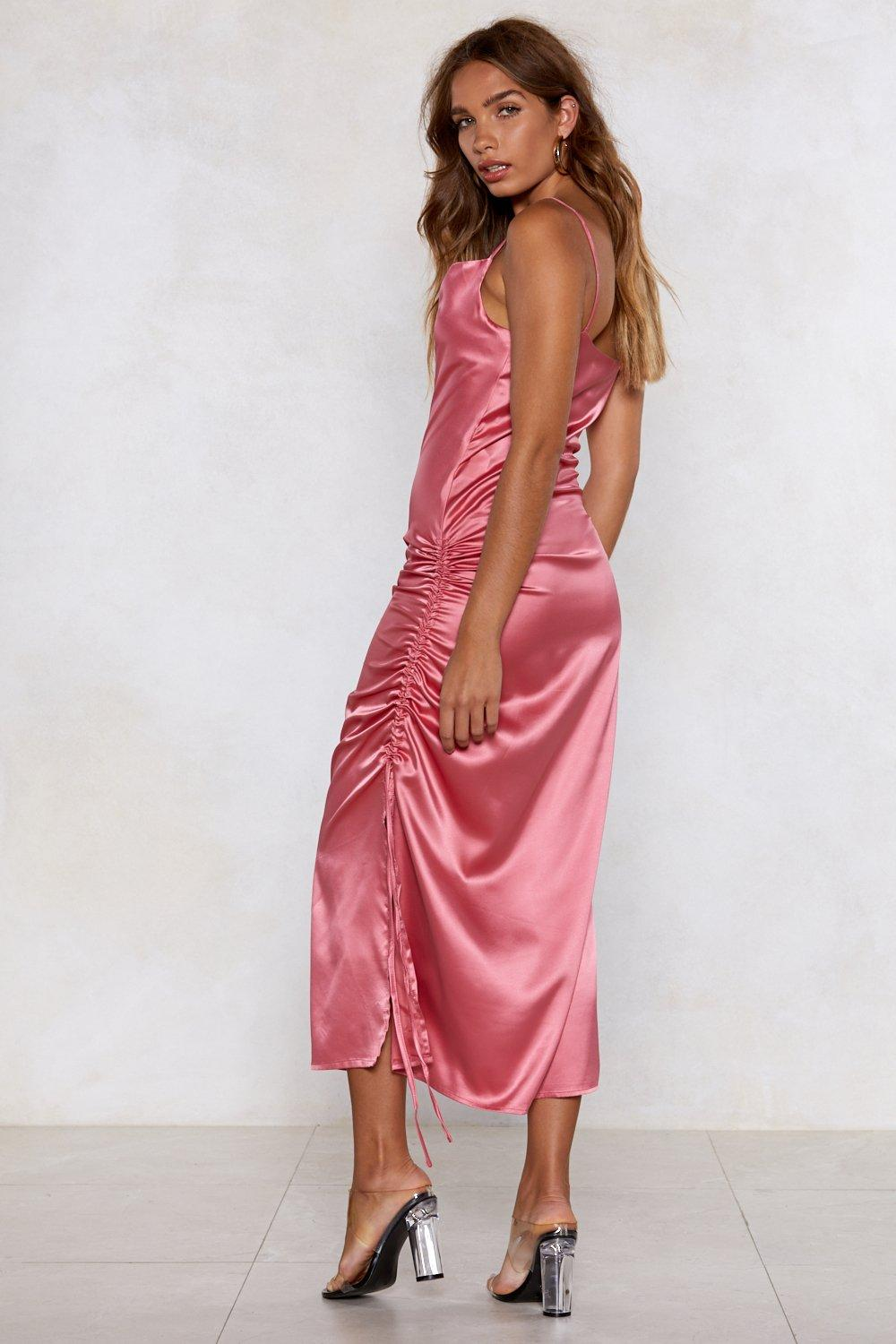 0cb5c814b349 Dance With Me Satin Dress | Shop Clothes at Nasty Gal!