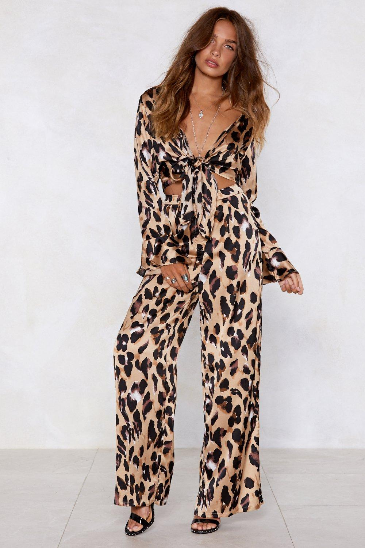 1a2ae1225e13 So Fierce Leopard Wide-Leg Pants | Shop Clothes at Nasty Gal!