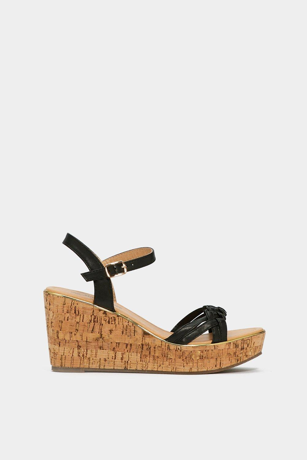 Build 'Em Up Faux Leather Wedge view for sale discount latest discount outlet store QL0bxV9V