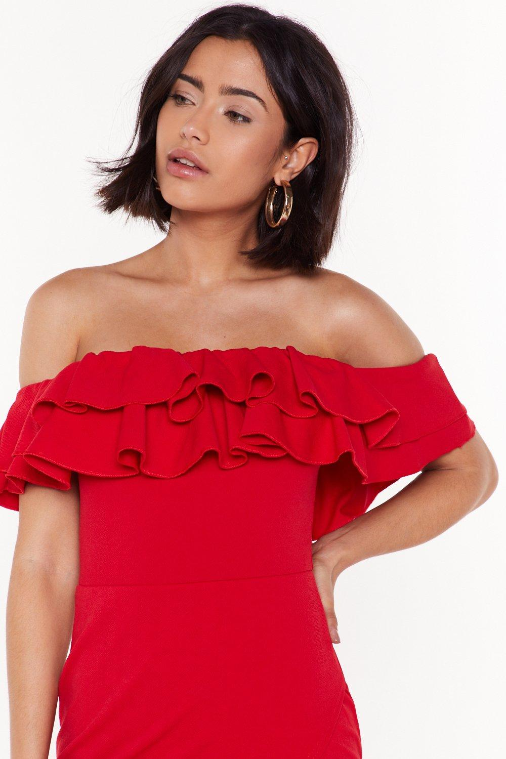 e9e2d86cd685 In the Evening Ruffle Dress   Shop Clothes at Nasty Gal!