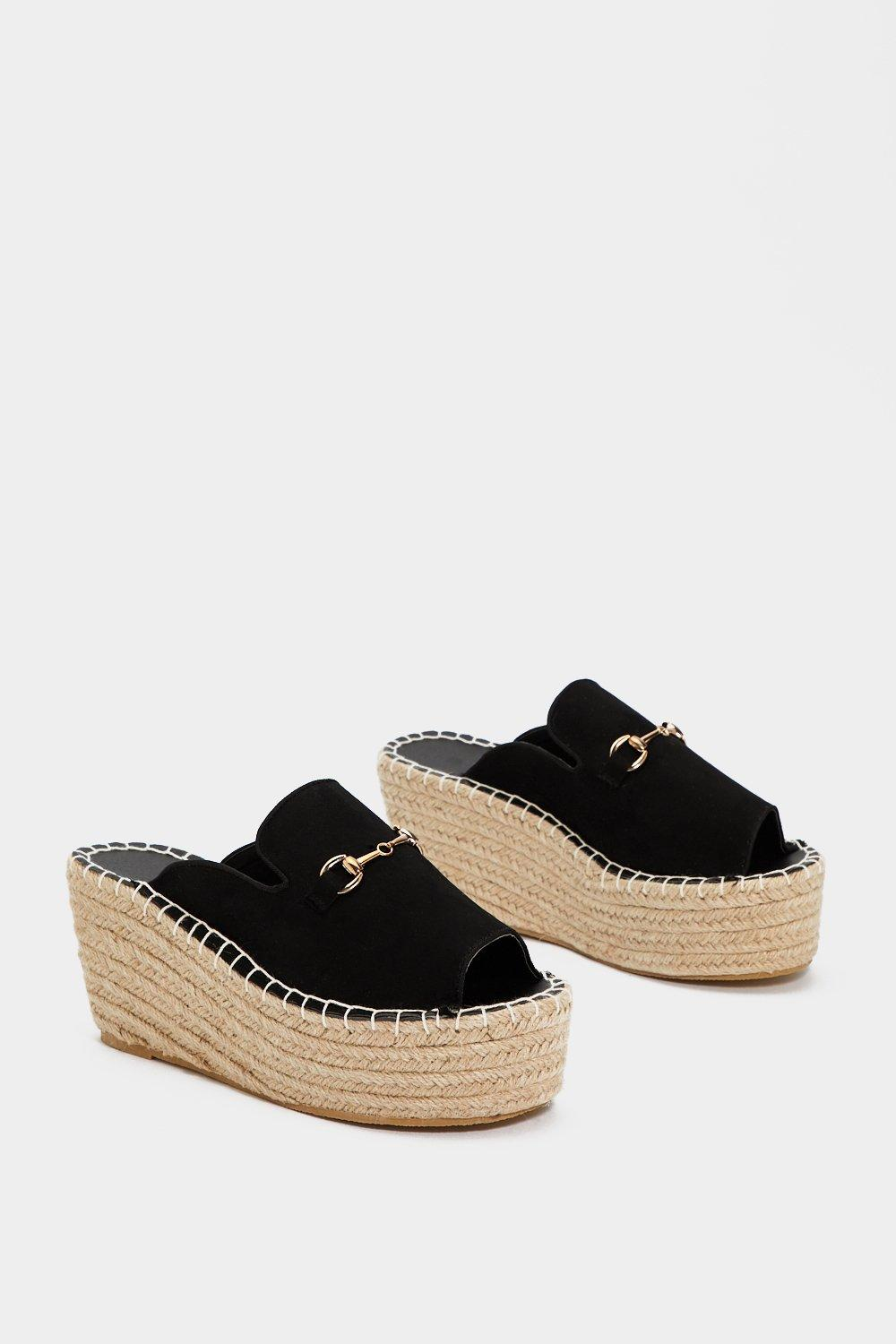 8cf03b931 Up and At 'Em Espadrille Mule | Shop Clothes at Nasty Gal!