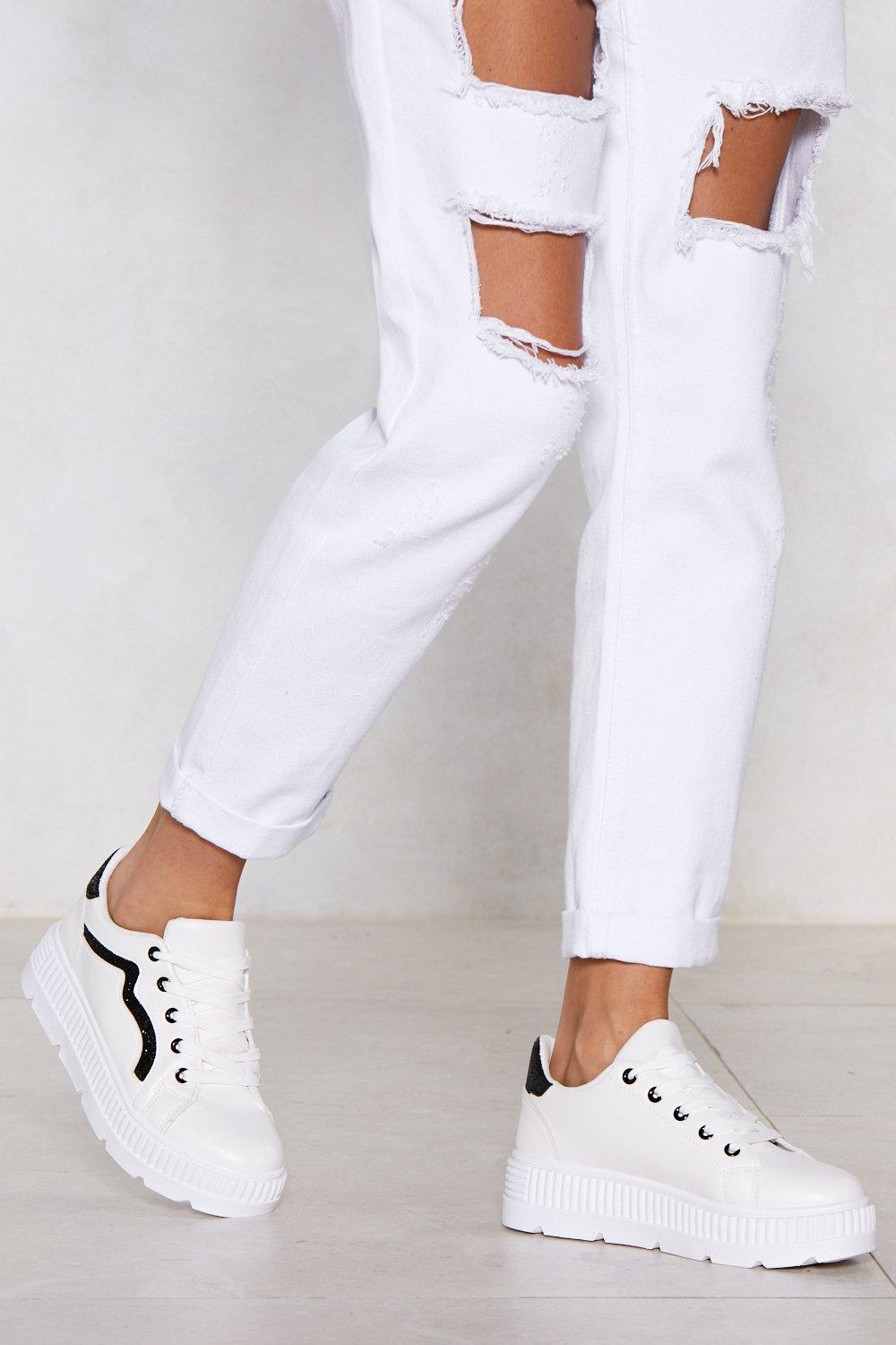 2d70d9bbb My Heart and Sole Platform Sneakers | Shop Clothes at Nasty Gal!