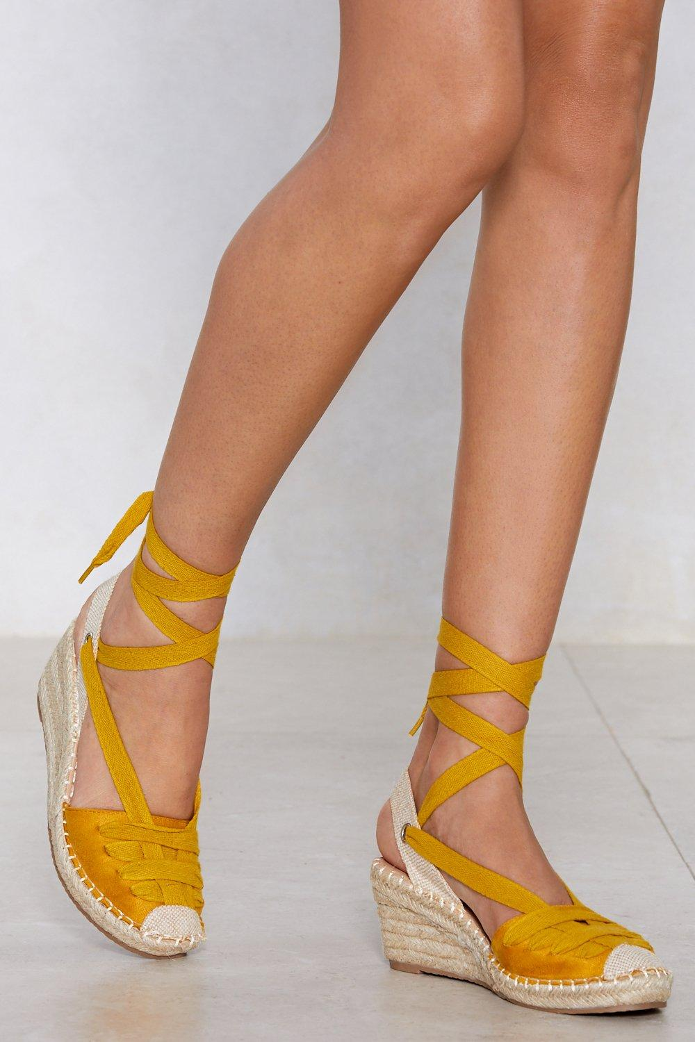 cc3ef5a726d I Get Around Espadrille Wedge | Shop Clothes at Nasty Gal!