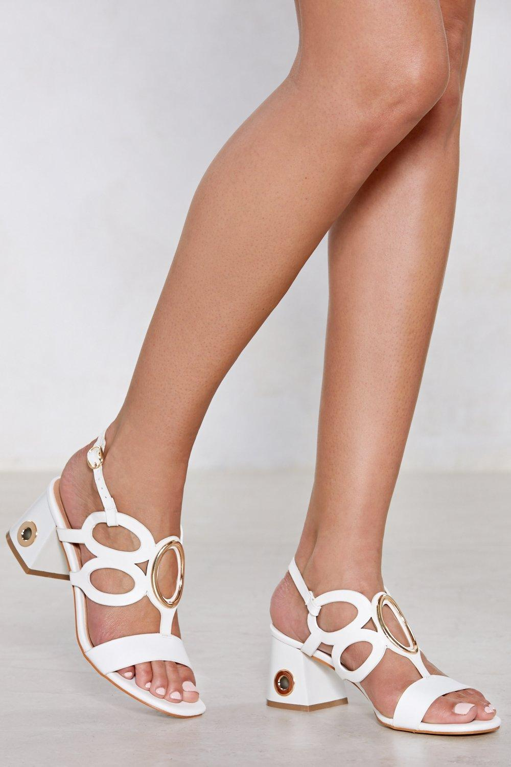 new arrival cheap price The Holy of Holies Cut-Out Sandal free shipping manchester great sale discount newest outlet pay with paypal pCn6S