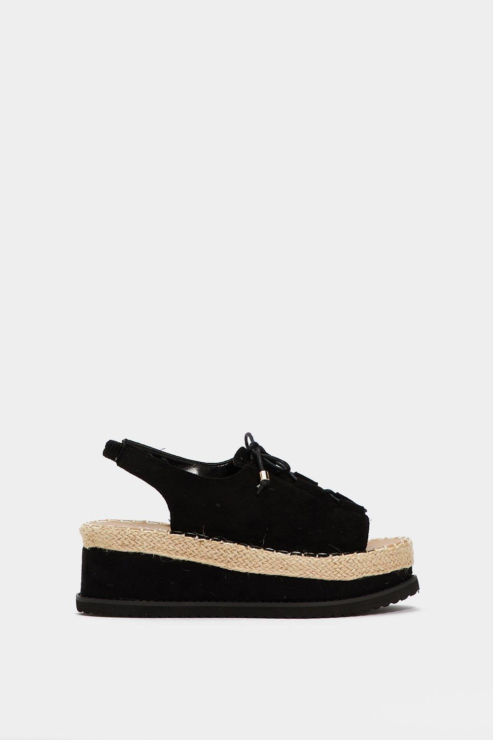 cheap sale big sale It's Up to You Faux Suede Sandal low price cheap online free shipping in China buy cheap supply JdfEsYJ