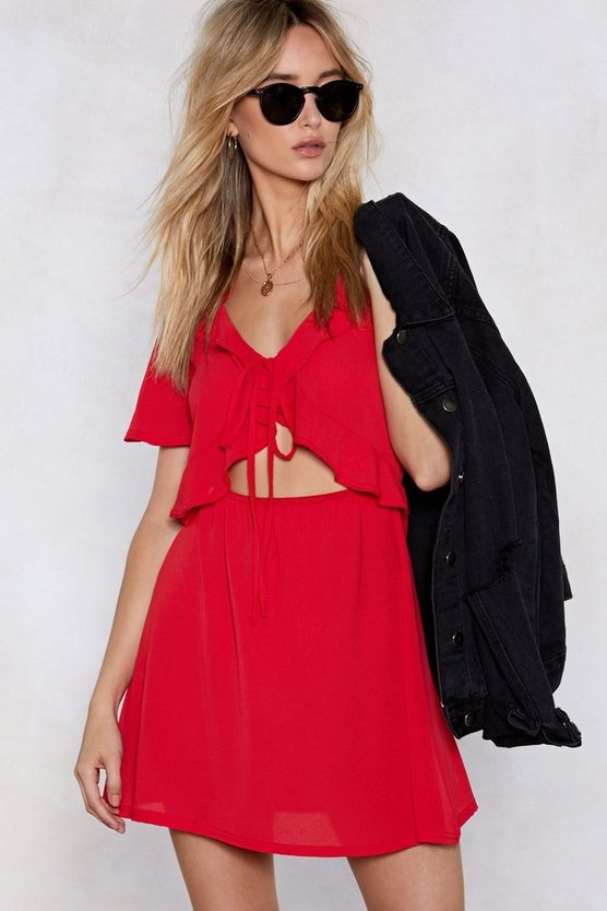 Things Will Work Cut Out Dress by Nasty Gal