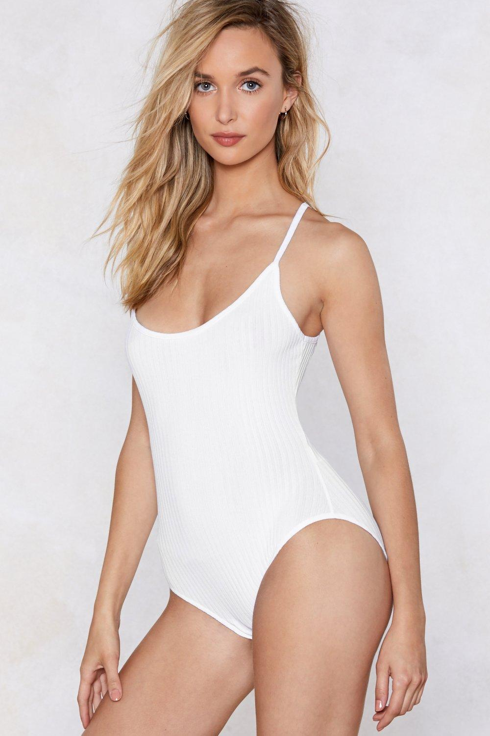 bac19d4f9f95 All the Tight Reasons Ribbed Bodysuit | Shop Clothes at Nasty Gal!