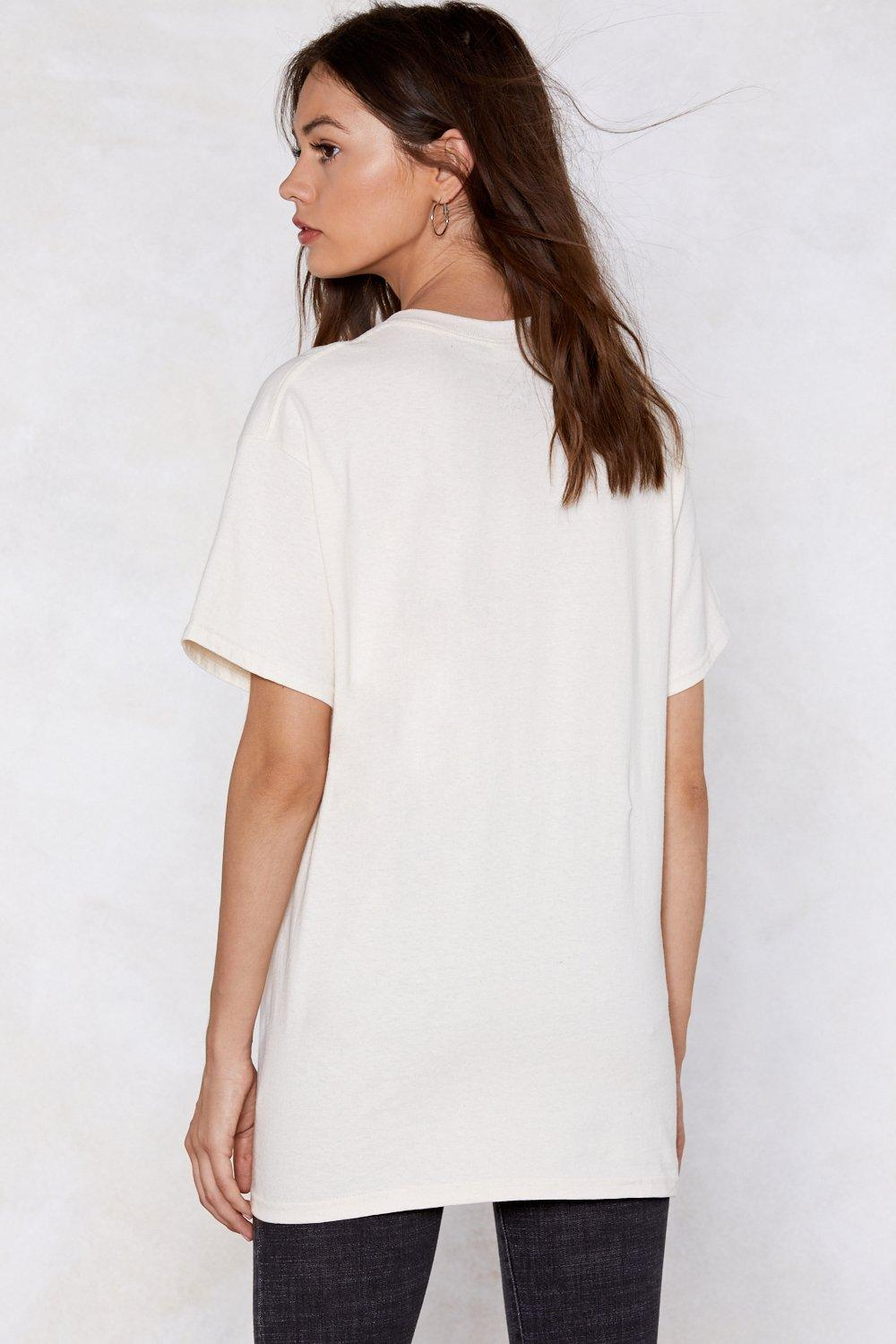 Living In America Relaxed Tee Shop Clothes At Nasty Gal