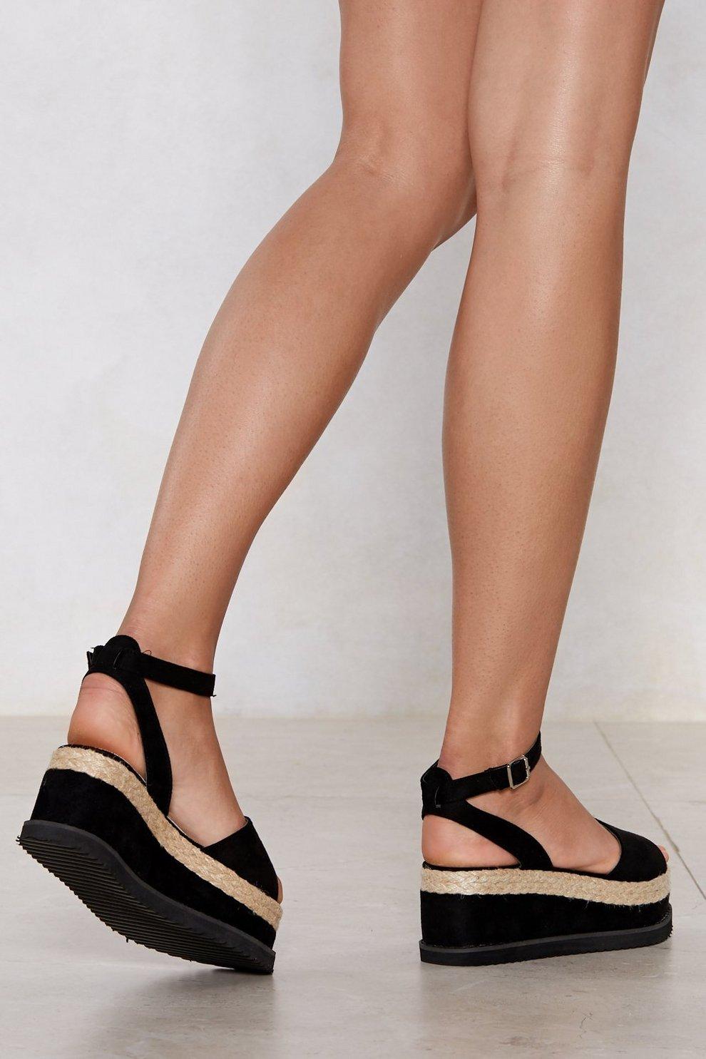 cheap sale pay with visa Put Your Foot Down Espadrille Sandal pictures l6fcUa5jZA