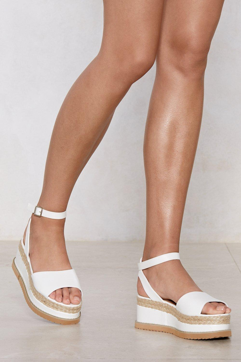 2505b498fb20 If You Can t Have It All Espadrille Platform Sandal