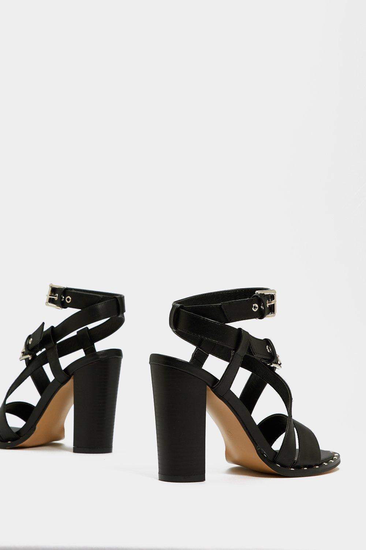 475bd94a58f Buckle Up Heel Sandals