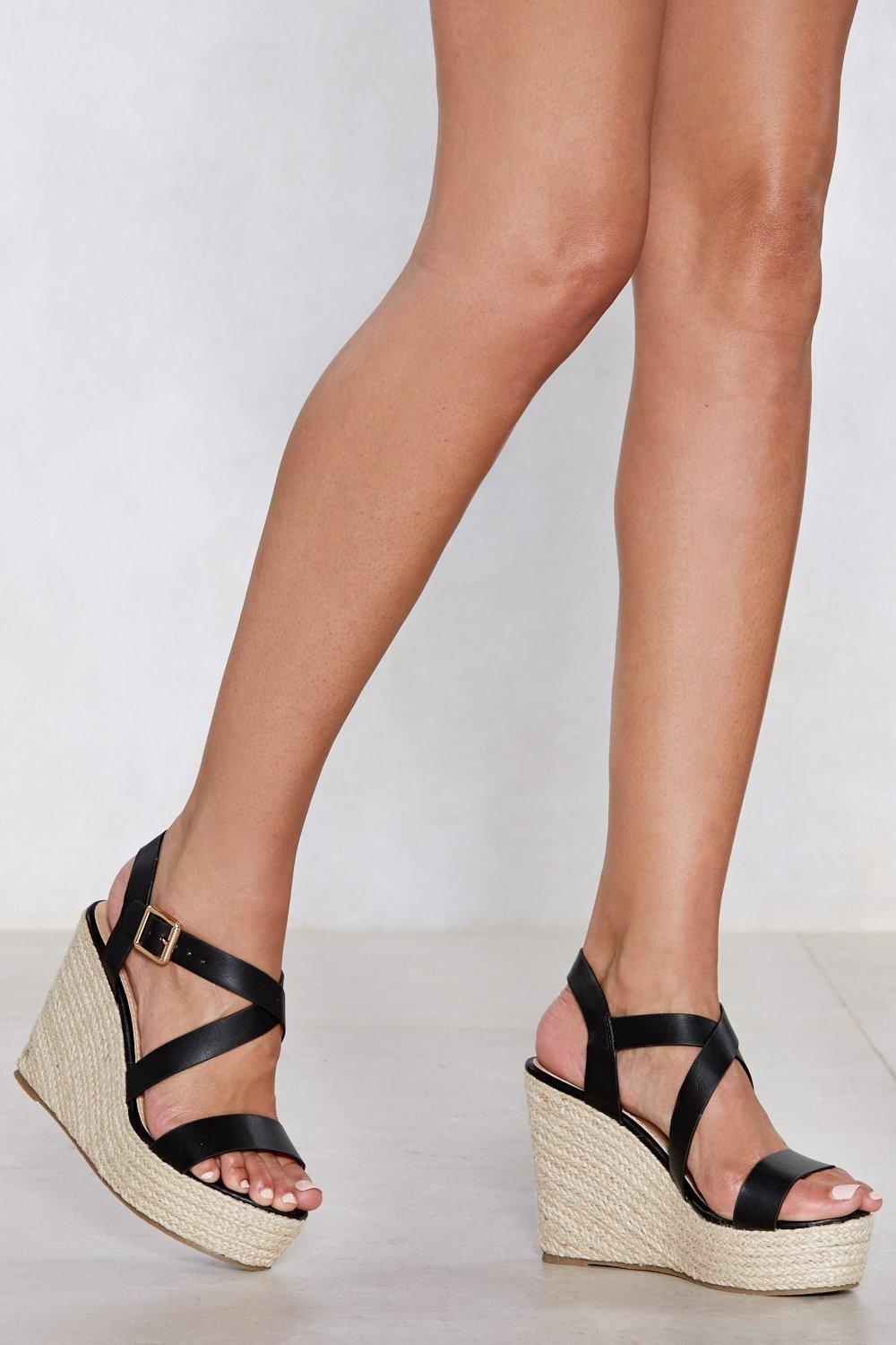 Living On the Wedge Espadrille Wedge official site cheap online 8S4h0p