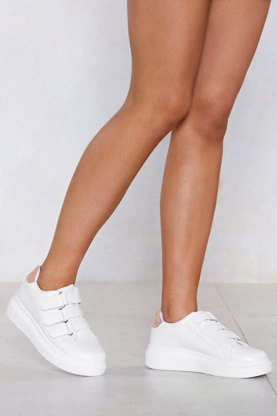 I'd Strap That Chunky Sneaker by Nasty Gal