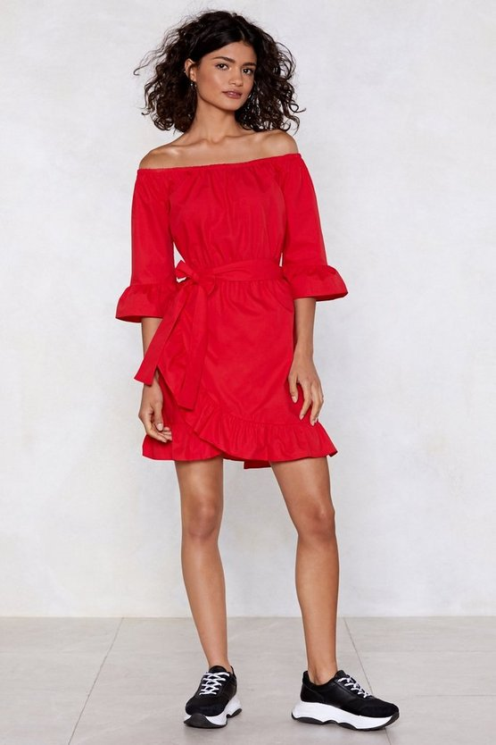 top-down-wrap-dress by nasty-gal