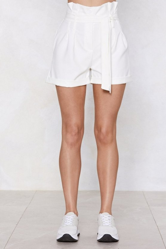 Such A Waist Of Love Paperbag Shorts by Nasty Gal