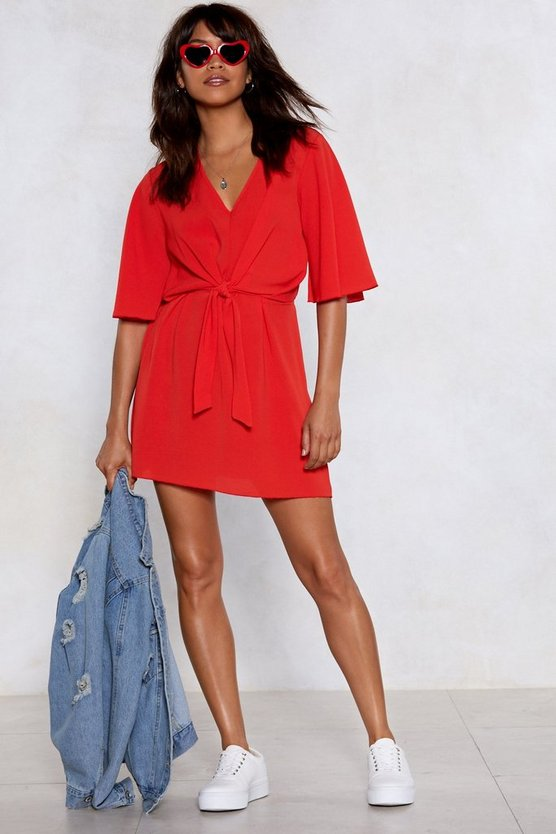 It's Knot An Issue Dress by Nasty Gal