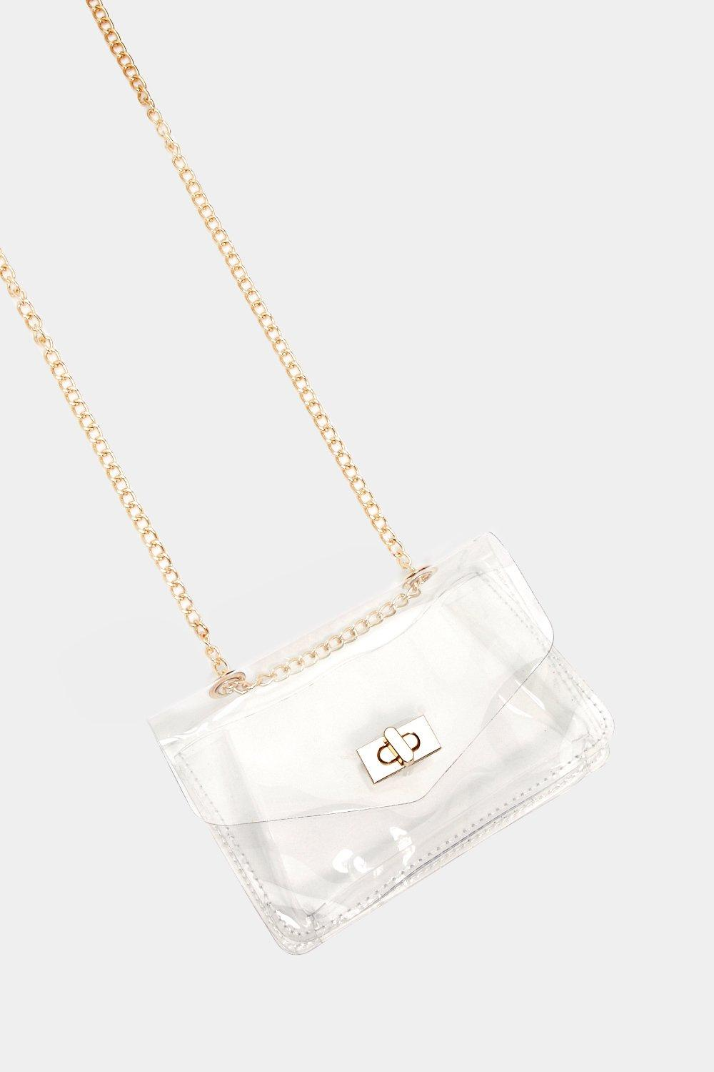 b73e52ad8996 WANT See For Yourself Clear Crossbody Bag | Shop Clothes at Nasty Gal!