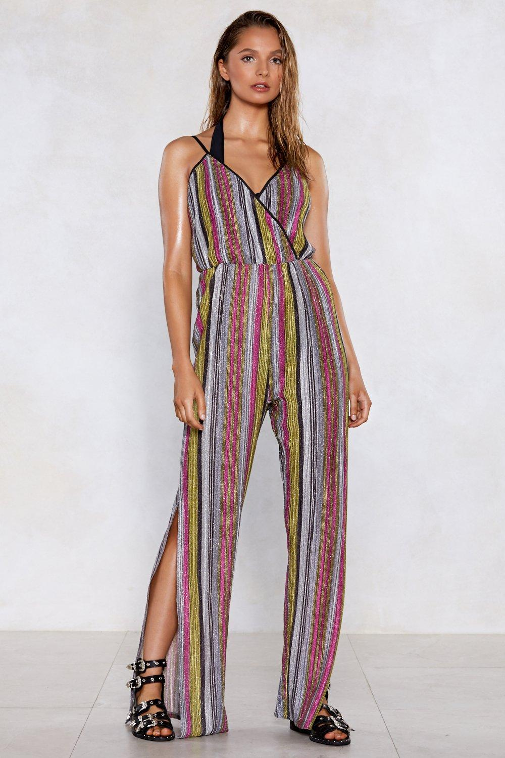 d61bf070e74 You're Doing Just Shine Striped Jumpsuit | Shop Clothes at Nasty Gal!