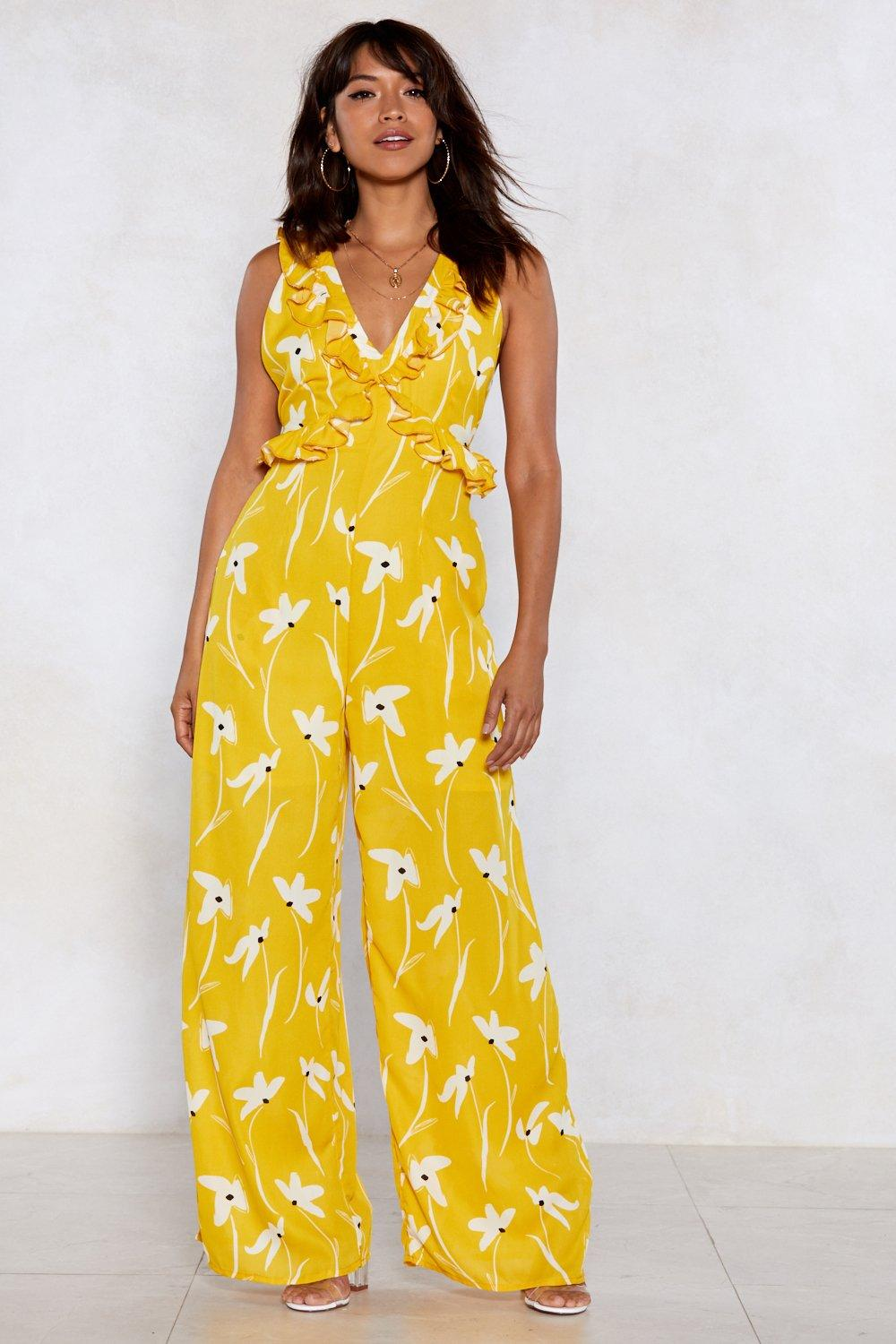 327fddf91b6c Summer in the City Floral Jumpsuit | Shop Clothes at Nasty Gal!