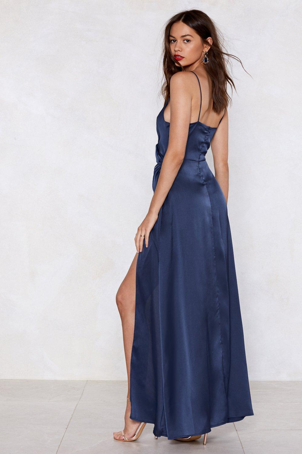 69808153ef In the Evening Satin Dress | Shop Clothes at Nasty Gal!