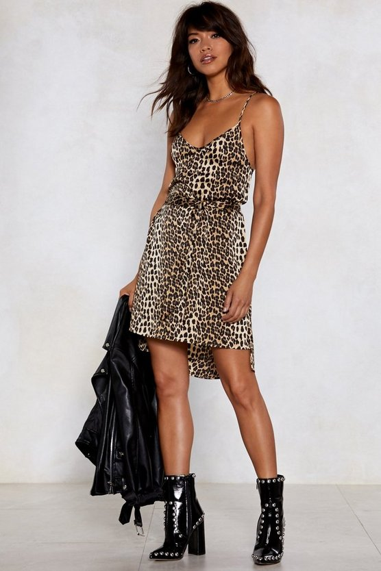 Wild Heart Leopard Dress by Nasty Gal